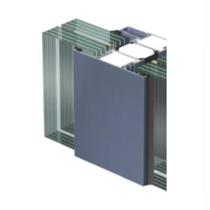 EI90, EI120 perces üvegfal Aluprof MB78 profilrendszerből